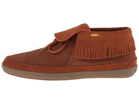 403c57734fe3e0 Vans Mohikan W (Surf Native) Brown Patina Gold - 6pm.com ...