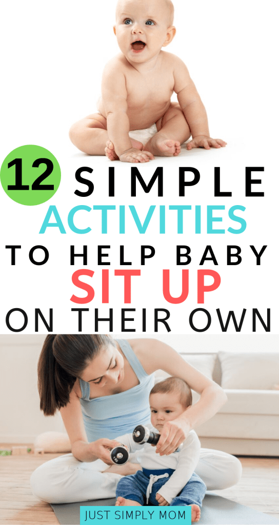 When Can Your Baby Sit Up And How To Help Them Sit Up On Their Own Baby Facts Baby Classes Babysitting