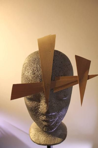 Jagged Edge  BY RICHARD SCHOLZ  #millinery #hats #HatAcademy