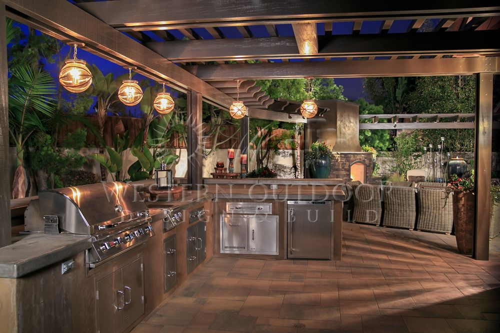 Perfect Outdoor Island Lighting Stucco Finish Bbq Islands Outdoor Kitchens Gallery Western Outdoor Bbq Island Outdoor Kitchen Outdoor Island