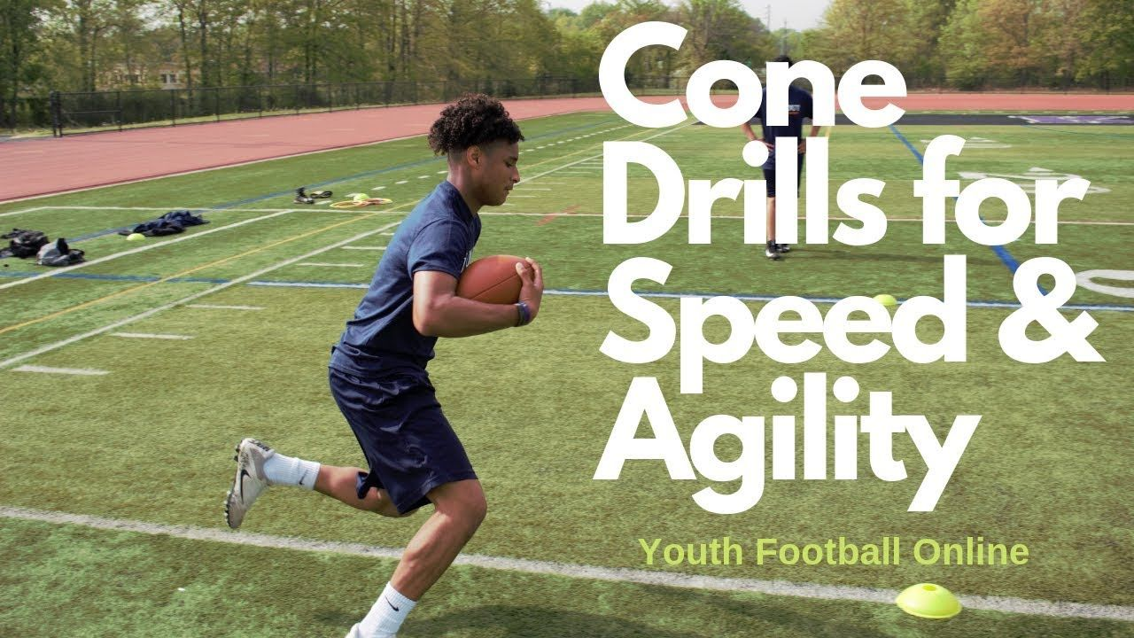 Here Are The Best Cone Drills For Youth Football Players These