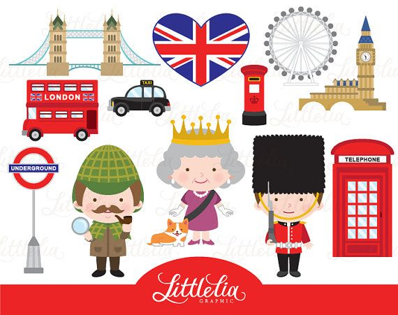 london clipart - british london clipart - british clipart - 15078