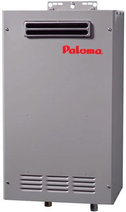 Paloma Commercial Tankless Hot Water Heater Outdoor Lp Gas Max 8 5 Gpm Dultmeier Sales Tankless Hot Water Heater Water Heater Hot Water Heater