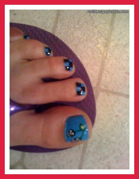 Fingernail And Toenail Designs For Kids Cute Toe Designs Pictures