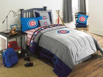 Chicago Cubs Authentic Bedding Baseball Bed Yankee Bedroom Ny Yankees Bedroom
