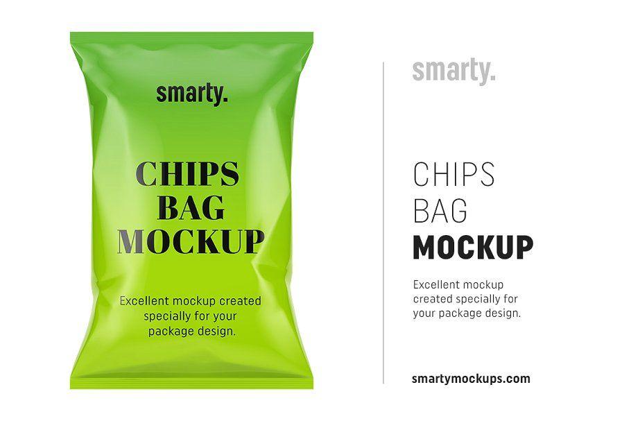 Download Chips Bag Mockup Bag Mockup Chip Bag Mockup