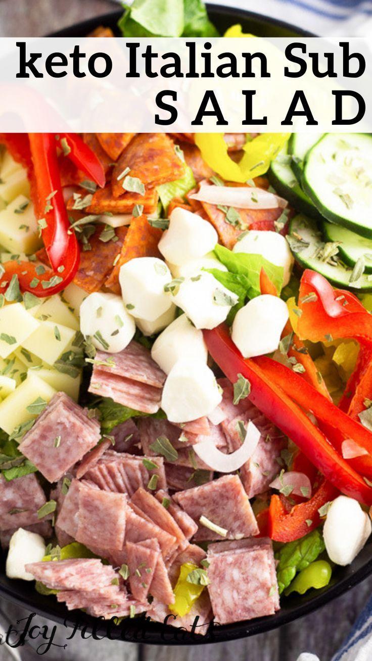 Italian Salad aka Antipasto Salad - Low Carb, Keto, Gluten-Free, Grain-Free, THM...  Italian Salad aka Antipasto Salad - Low Carb, Keto, Gluten-Free, Grain-Free, THM...