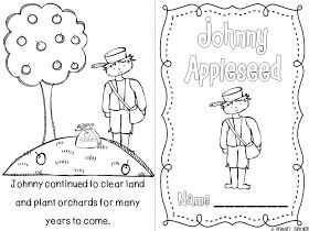 Primary Junction Johnny Appleseed Johnny Appleseed Johnny Appleseed Craft Apple Seeds