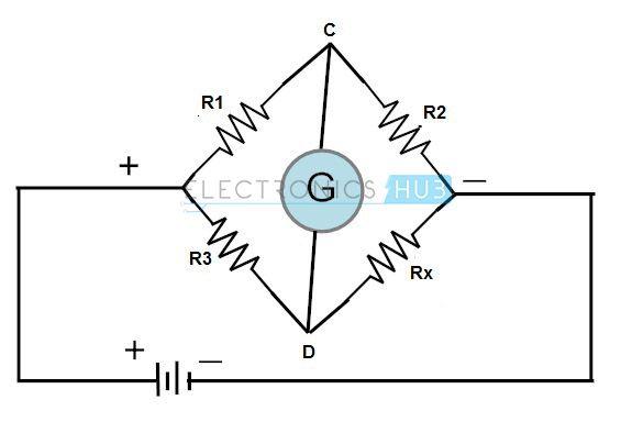 Wheatstone Bridge Circuit Theory Exle And Applications: Wiring Diagram Wheatstone Bridge At Eklablog.co