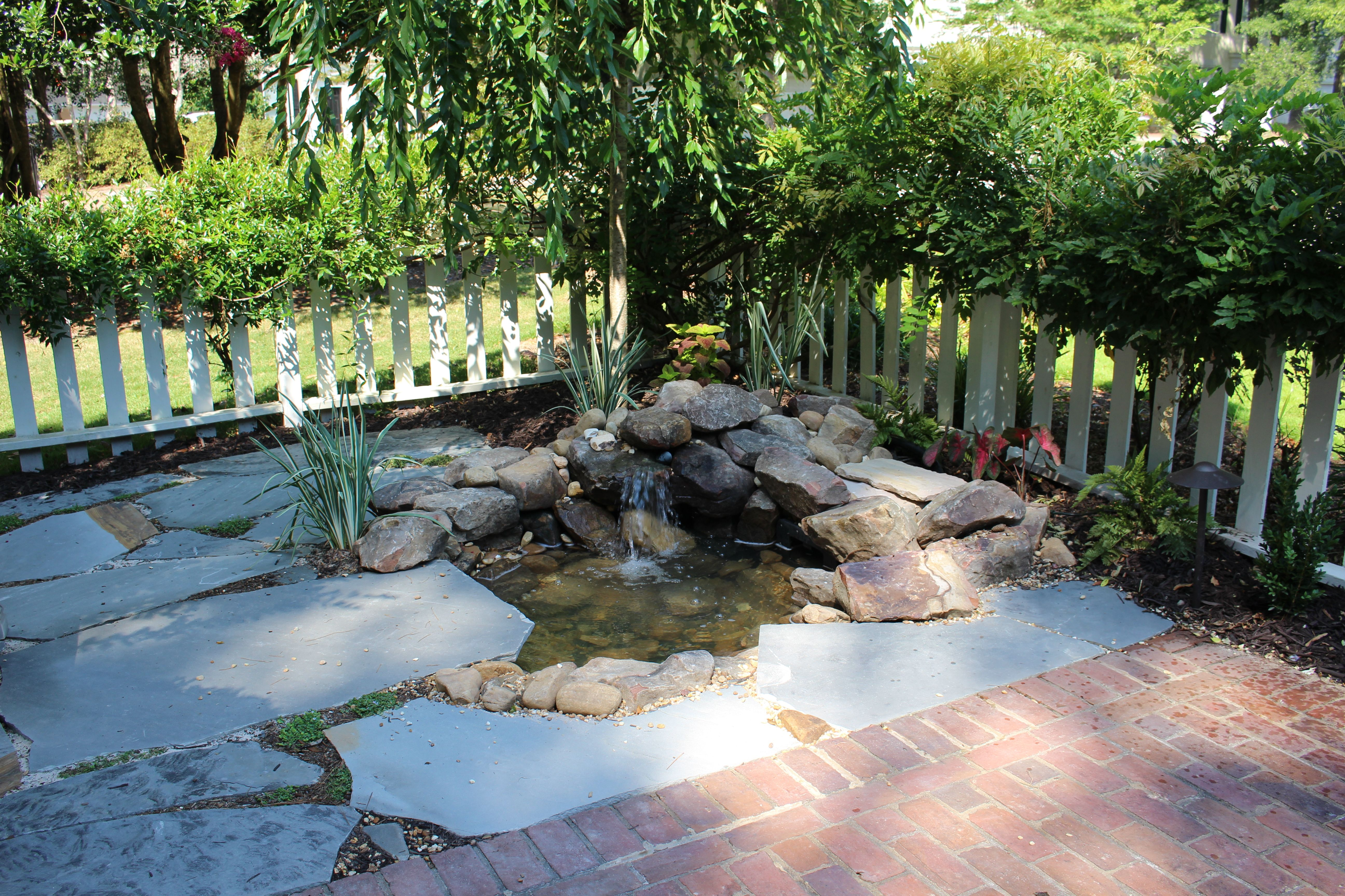 Courtyard Pond Water Feature (With images)   Pond water ... on Courtyard Pond Ideas id=63748
