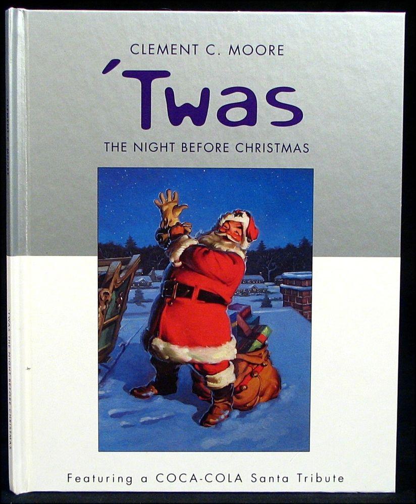 Coca Cola Santa  Twas the Night Before Christmas ~ Hallmark