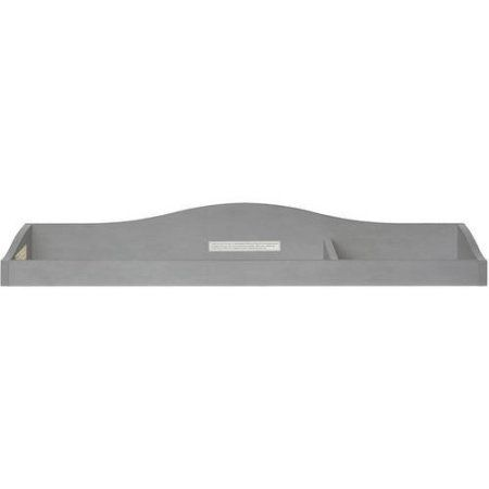 Evolur Fully Assembled Changing Tray, Storm Grey, Gray