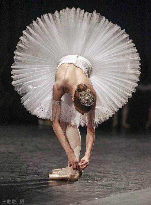 Карикатурное фото балерины