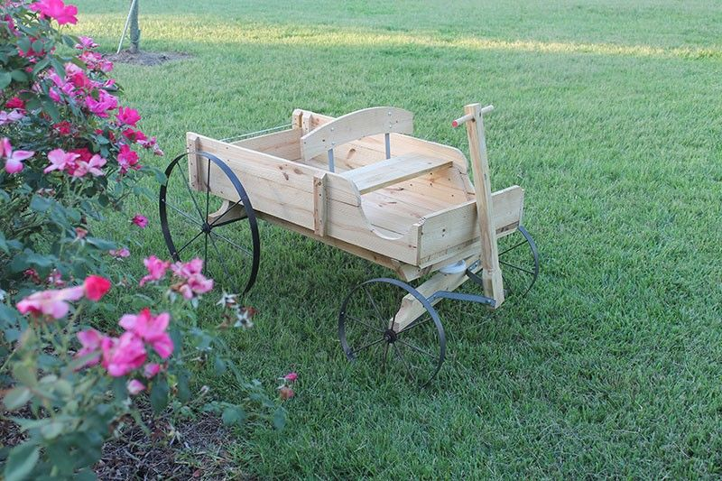 Use these plans and wheels to build an ornamental