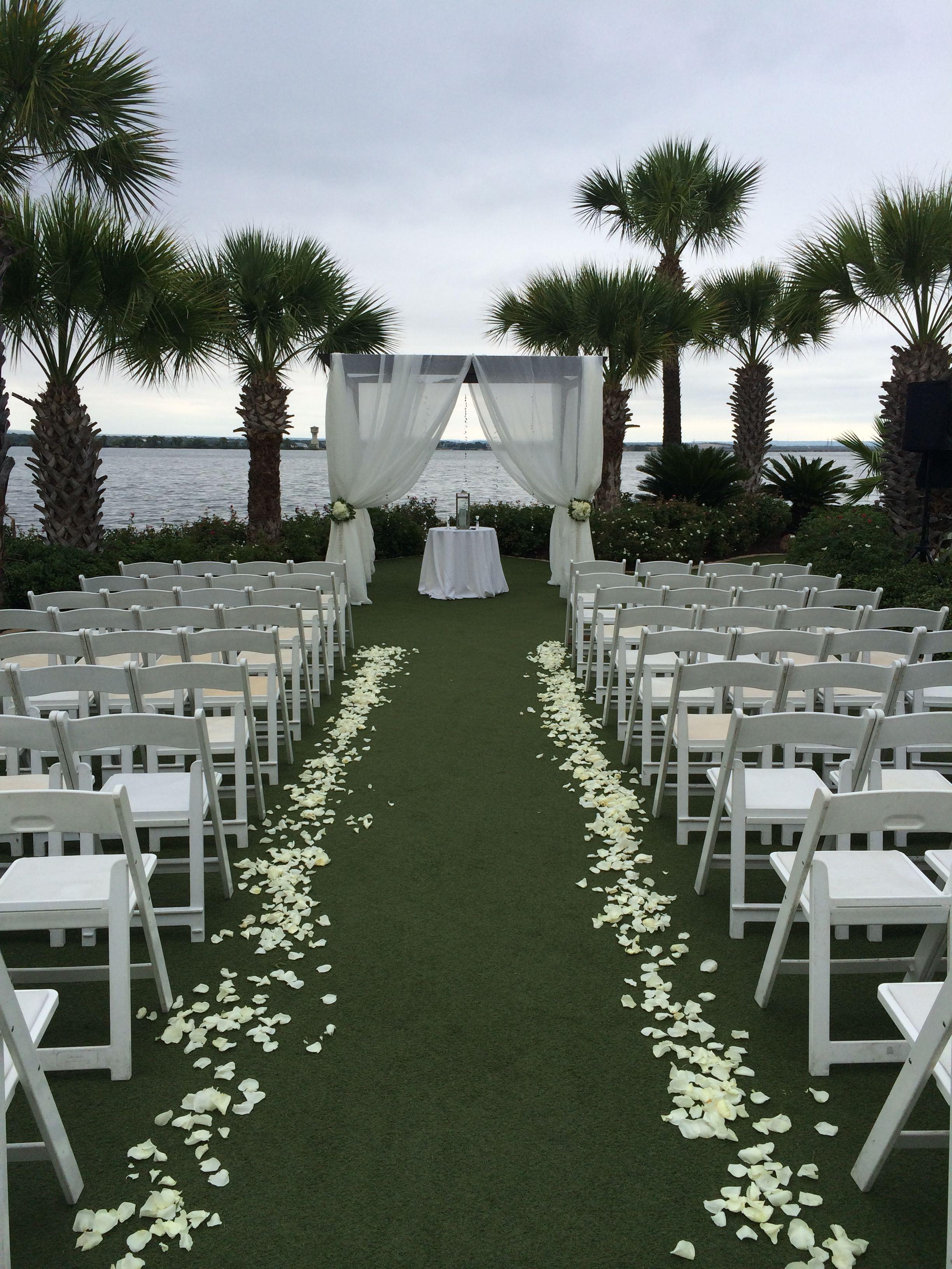 Magnolia Lawn Wedding Flowers Resort Wedding Horseshoe Bay Resort