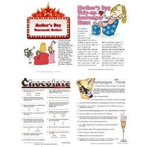 Printable Mother's Day Games [Download] --- http://www.pinterest.com.gp1.me/gc