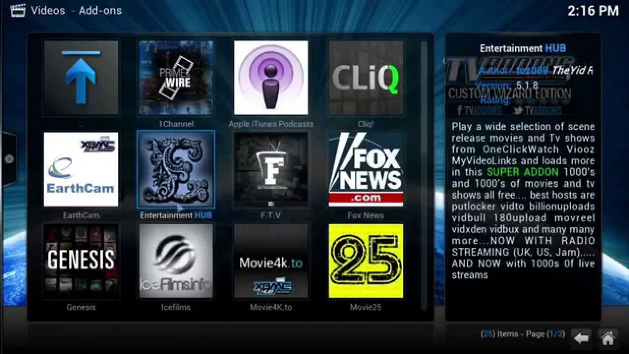 Kodi xbmc how to watch latest movies and tv shows in hd