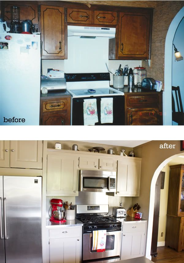 Home sweet home on a budget kitchen cabinet makeovers for Stylish kitchens on a budget