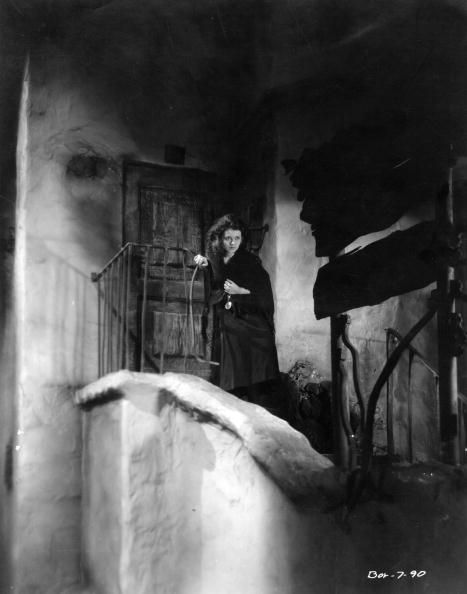 Janet Gaynor in her Oscarwinning role as a helpless waif in the film 'Seventh Heaven' directed by Frank Borzage for Fox
