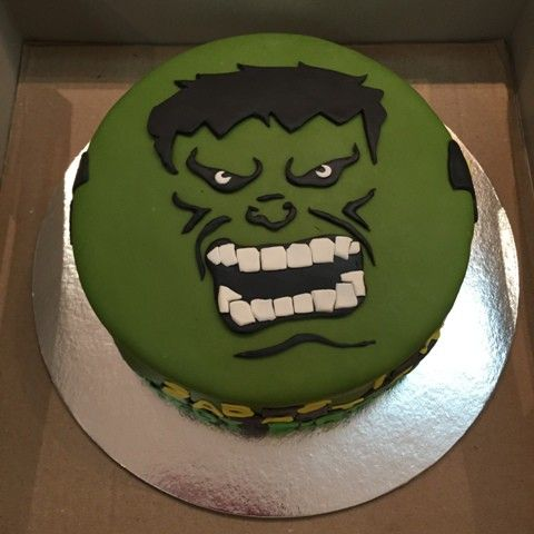 In this tutorial, I am going to share to you how to transfer the face of the INCREDIBLE HULK - one of the famous avenger heroes - on a fondant cake. The cake was ordered by Patty for his son's 6th ...