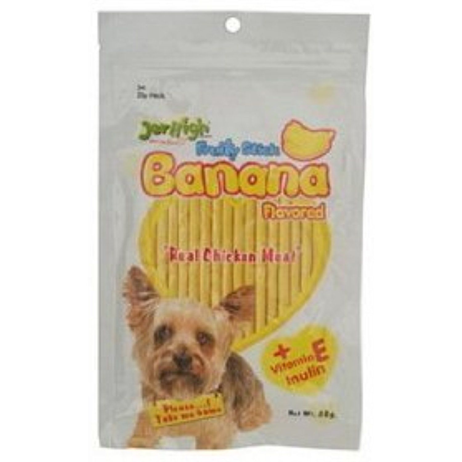 10x Jerhigh Snack Banana Stick Dog Snack 80g New Made From
