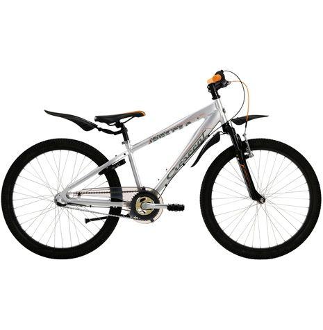 Crescent Torn är en tuff treväxlad 24-tums juniorcykel med dämpad framgaffel. En riktig favoritcykel hos kidsen med hög säkerhet.
