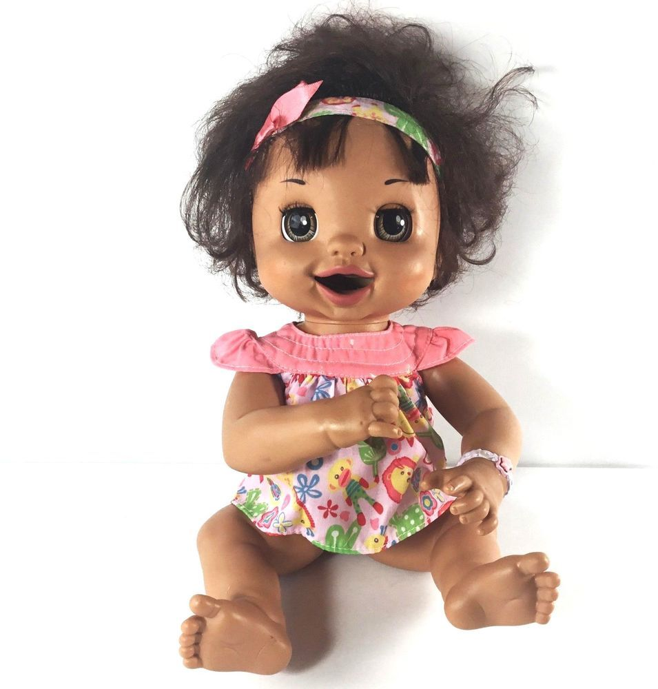 Baby Alive Hispanic Learns To Potty Soft Motion Face Spanish Speaking Only Hasbro Baby Alive Best Baby Doll New Baby Products