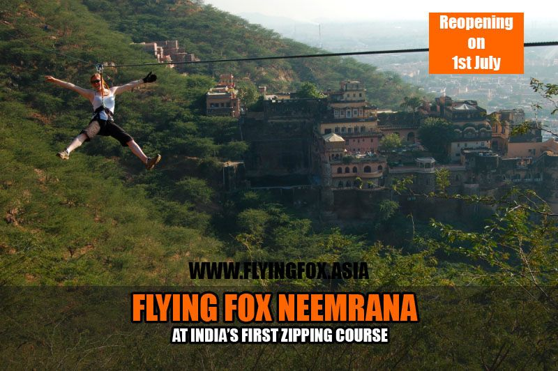 Book Your Zip Tour At Flying Fox Neemrana From Http Flyingfox Asia Flyingfoxzip Flyingfoxneemrana One Day Trip Adventure Activities Tours