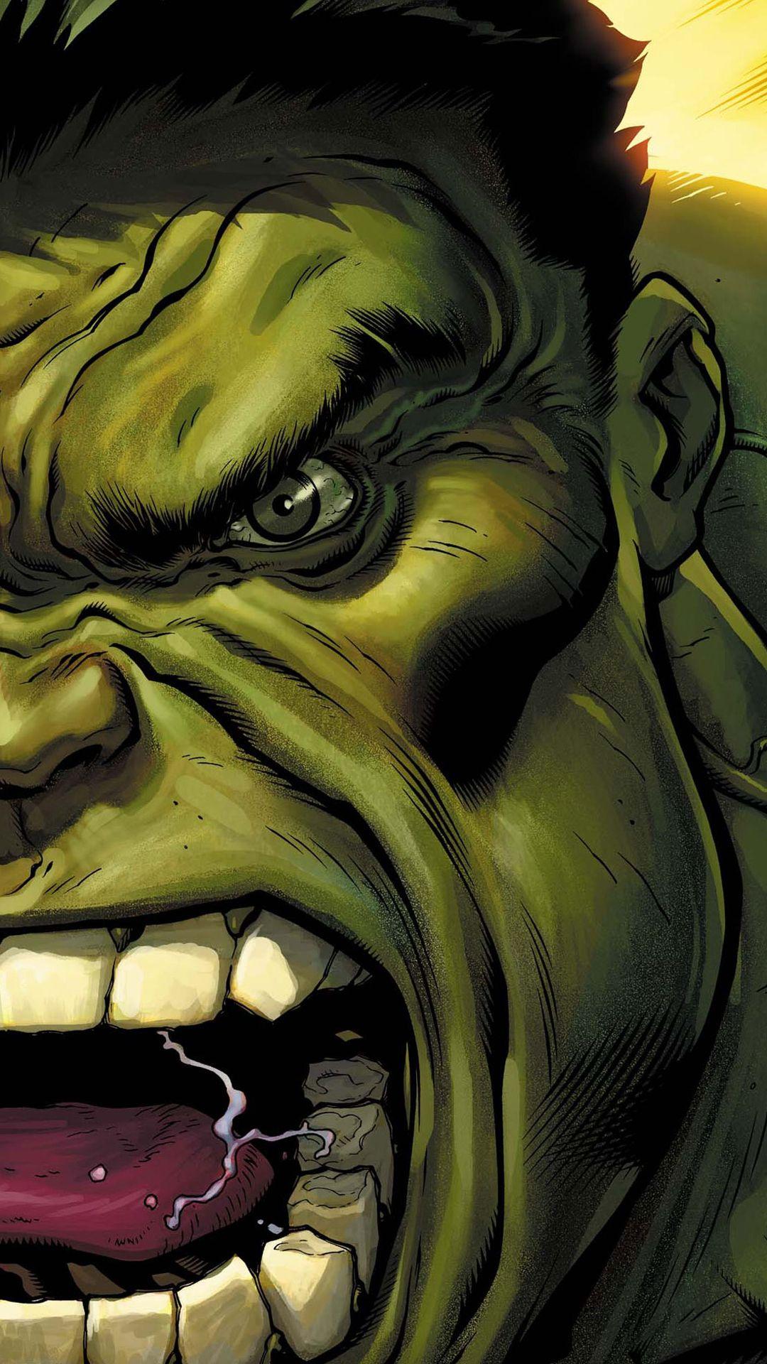 Avengers Hulk Visage Wallpaper