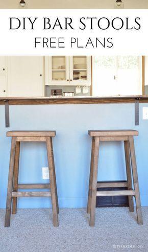 Photo of DIY Bar Stools |