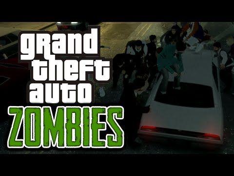 GTA 4: Zombie Apocalypse! - (Zombies Mod Funny Moments) | NERD SH