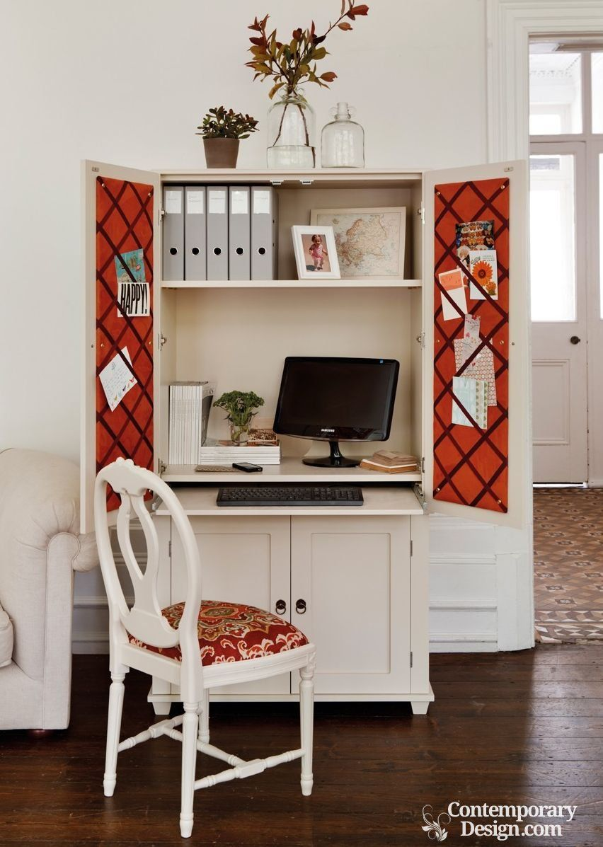 Hideaway Computer Cupboard Home Office Cabinets Home Office
