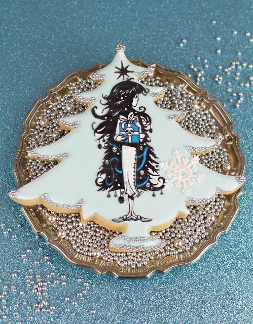 Ghostgirl Christmas cookies