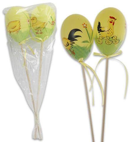 Easter Foam Egg Pick 2-pack - 288 Units