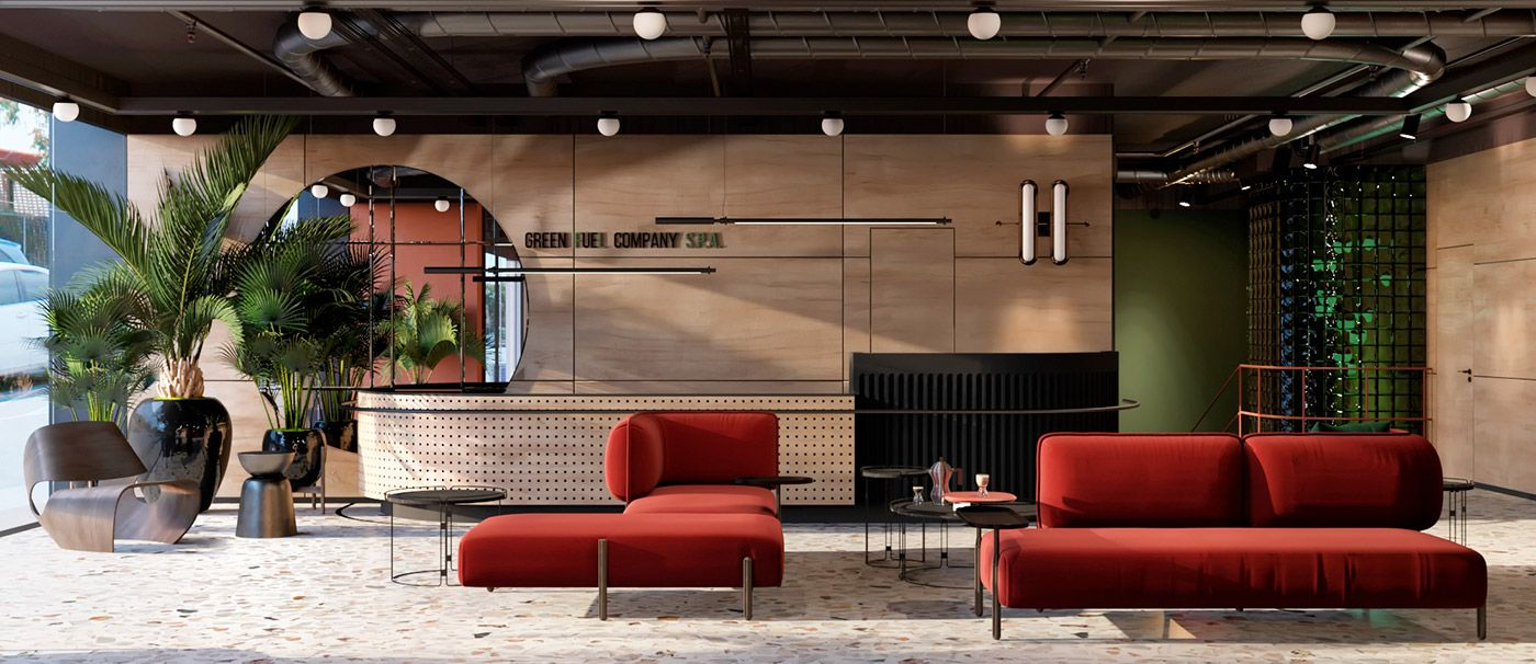 Ital Designs Hong Kong energetic italian office design (with images)