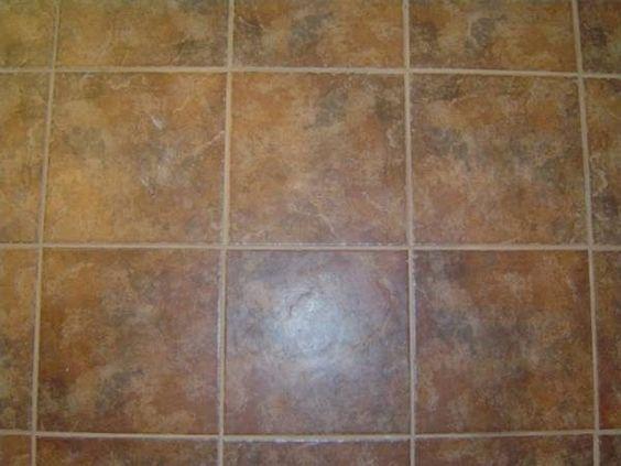 How To Stain Tile Floors Diy Pinterest Tiles Flooring And