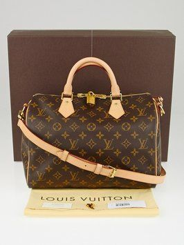 bbada738ae37 Louis Vuitton Monogram Canvas Speedy 30 Bandouliere Cross Body Bag. Get the  trendiest Cross Body Bag of the season! The Louis Vuitton Monogram Canvas  Speedy ...