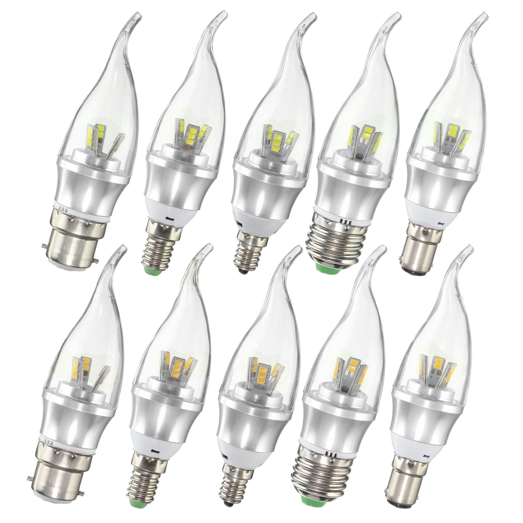 E27 E14 E12 B22 B15 3w Led Pure White Warm White 15 Smd 2835 Led Candle Light Lamp Bulb Ac85 265v Kotimart Com Led Candles Candlelight St Kitts And Nevis