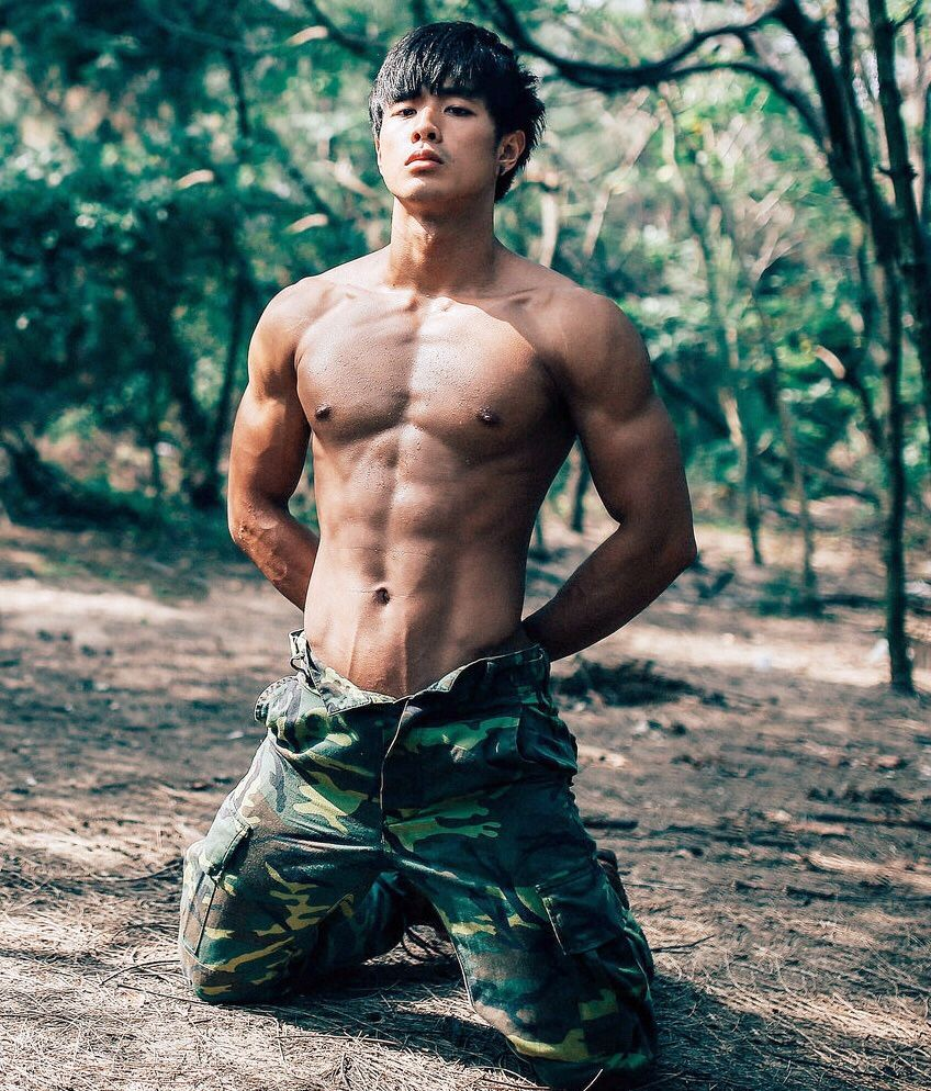 Apologise, but hot asian muscle hunk