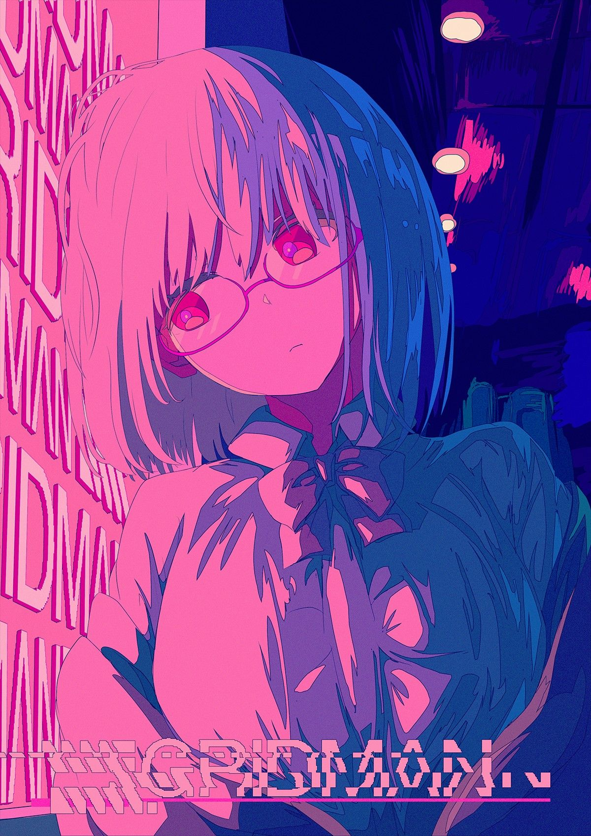 Shinjou Akane Ssss Gridman 芸術的アニメ少女 イラスト アートのアイデア