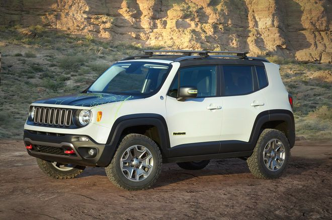 2016 Easter Jeep Safari Concepts Jeep Renegade Jeep Concept