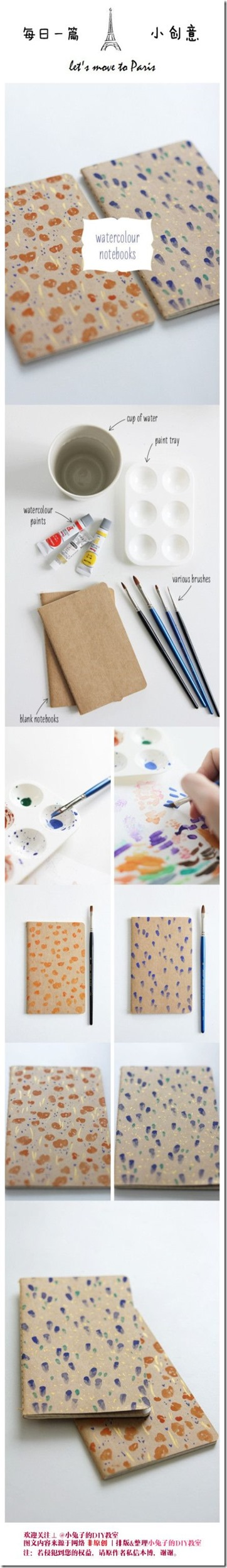 cuadernillos artesanos Aprende a decorar con acuarelas o temperas