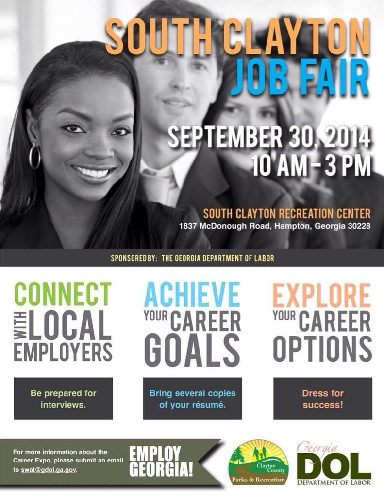 Georgia Job Fair coming up this month. Will you be there?