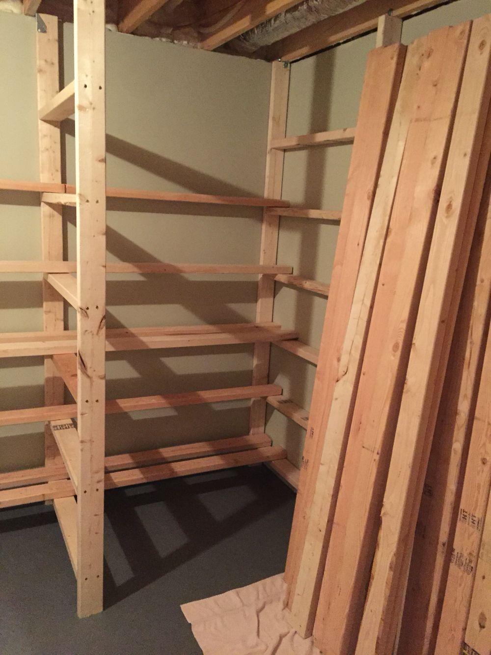 Basement Comic Book Long Box Storage Unit