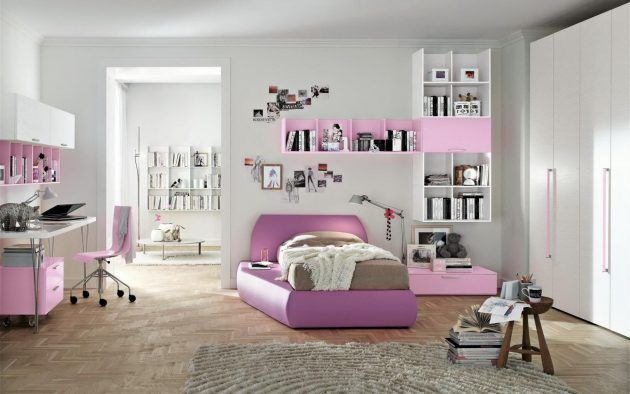 18 excellent modern bedroom designs to cheer up your teenager rh pinterest com