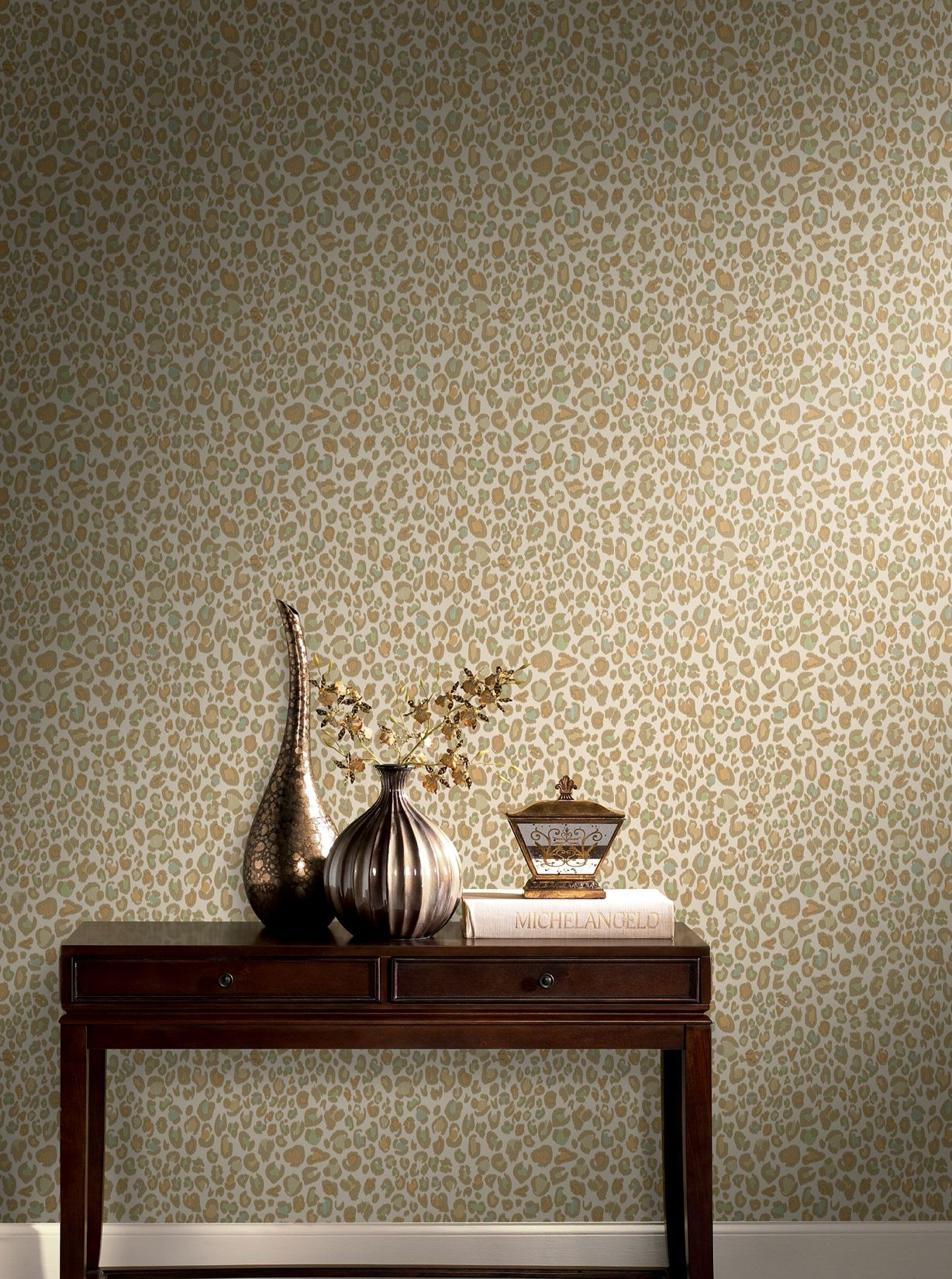 Empirical Wallcovering In Color Copper From Fabricut S Color