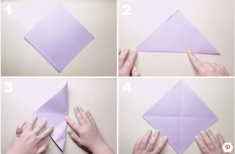 Gambar Lipatan Bunga Tulip 7 Cara Membuat Origami Dengan Berbagai Kreasi Bunga Hewan Download Cara Membuat Bunga Dar Di 2020 Bunga Bunga Dari Origami Bunga Tulip
