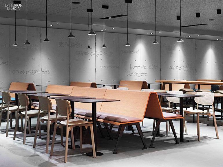 10 Global Restaurants Deliver Design A La Carte Modern Interior Design Interior Design Magazine Canteen Design