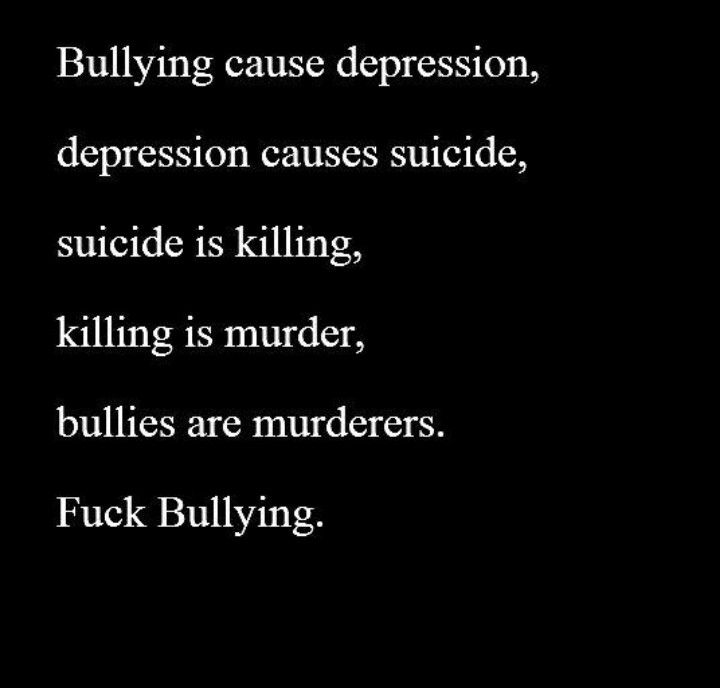Fuck bullying