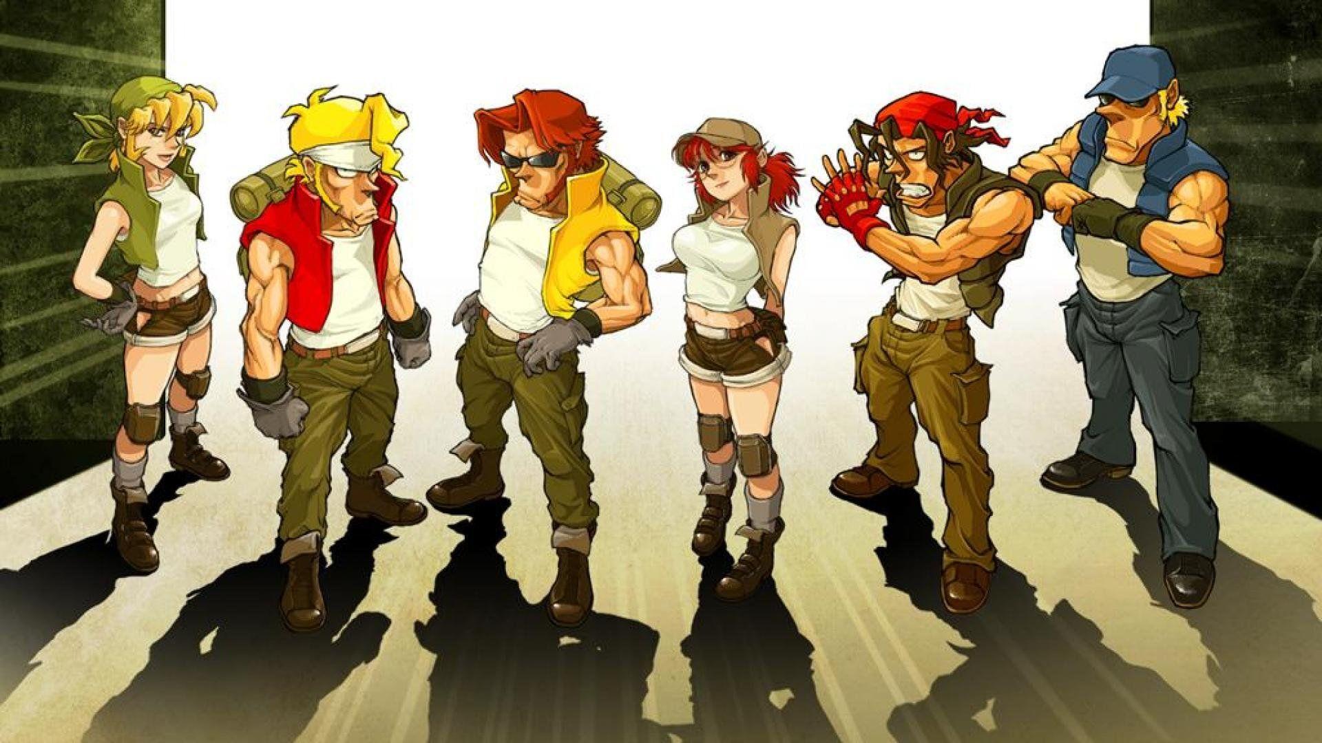 Metal Slug Wallpapers Wallpaper Cave Anime Retro Gaming Art Game Character Design